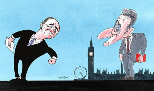 New illustrations by Gerald Scarfe