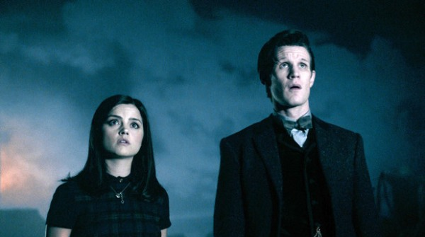 Clara and the Doctor discover Trenzalore isn't as advertised in the glossy brochure (Image: BBC)
