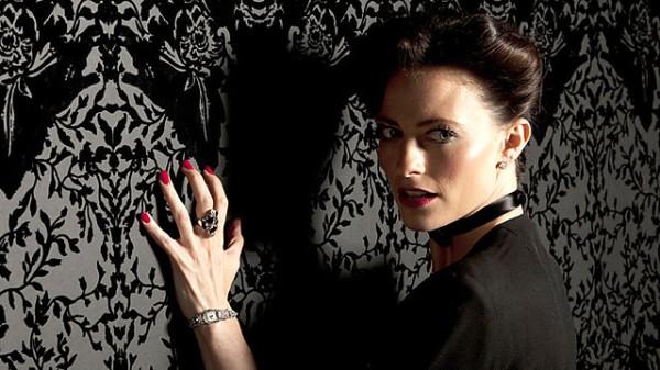Lara Pulver as Irene Adler (Image: BBC)