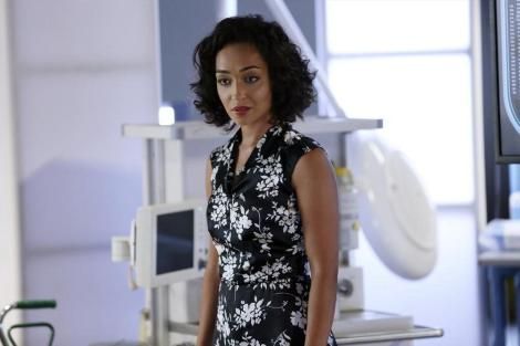 Raina (Ruth Negga) proves to be a ruthless face of Centipede (Image: Marvel Movies Wikia)