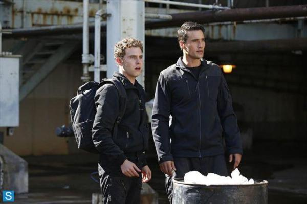 Fitz and Ward and find themselves paired together (Image: Marvel Movies Wikia)