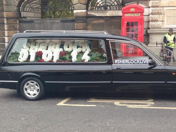 Hmm, I wonder when Sherlock is back ...?