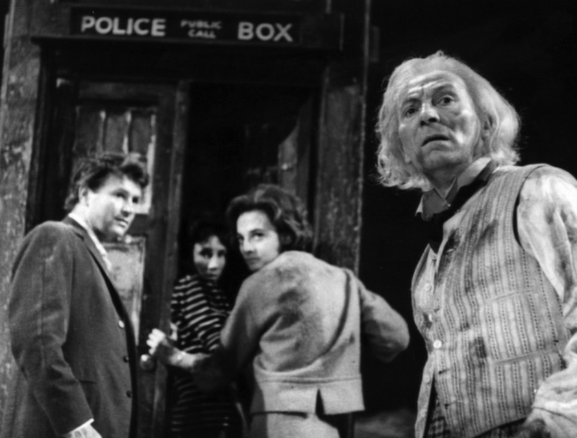 Doctor Who An Unearthly Child TARDIScrew