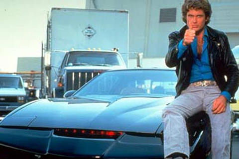 How did the bad guys manage to give KITT and Michael the slip so often? (Image: Knight Rider Wiki)