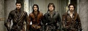Porthos, D'Artagnan, Athos, Aramis - and lots of leather (Image: BBC)