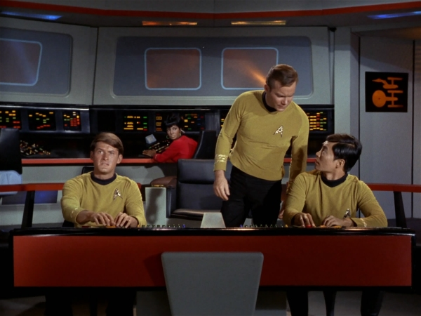 Very impressive, Mr Sulu, but where exactly is the 'go' button? (Image: Memory Alhpa Star Trek Wiki)