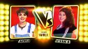 The Voice battle round 1 Anna McLuckie vs Jessica Steele