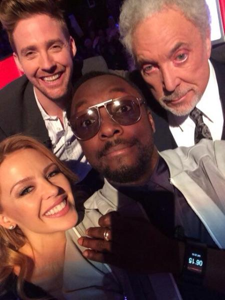 Will.i.am selfie The Voice