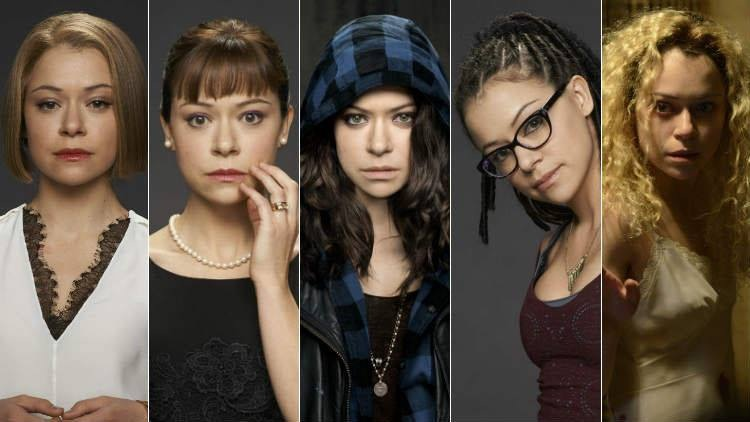 Orphan Black 5 clone montage