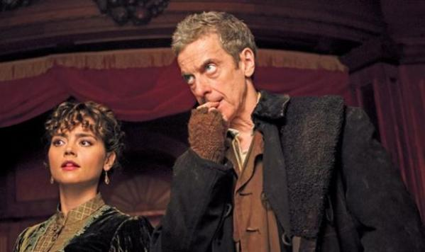 Clara tries to figure out who the Doctor is - but even he himself isn't sure (Image: BBC)