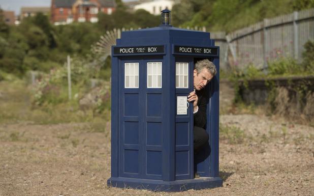 Doctor Who s8e9 FlatlineBBC