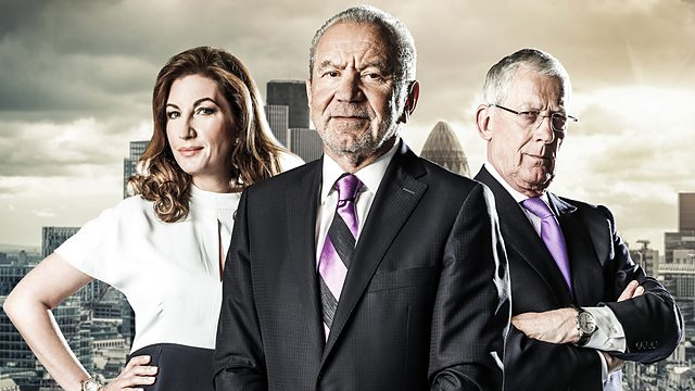 There's no mercy from Karren Brady, Lord Sugar and Nick Hewer in the boardroom after another catastrophic performance (Image: BBC)