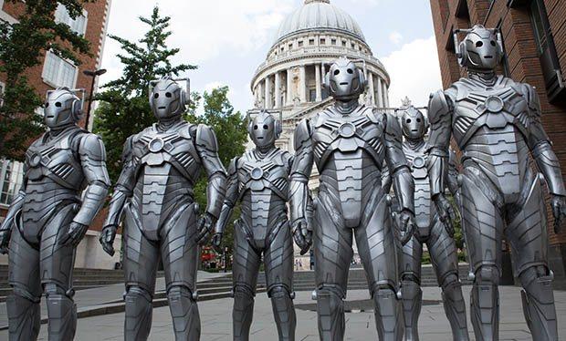 Doctor Who s8e11 Dark Water CybermenBBC