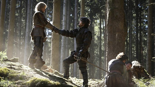 The Musketeers s2e1 Keep Your Friends Close BBC