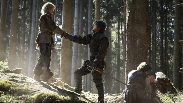 Despite appearances, Rochefort is no friend of the Musketeers (Image: BBC)