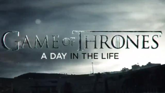 Game of Thrones A Day in theLife