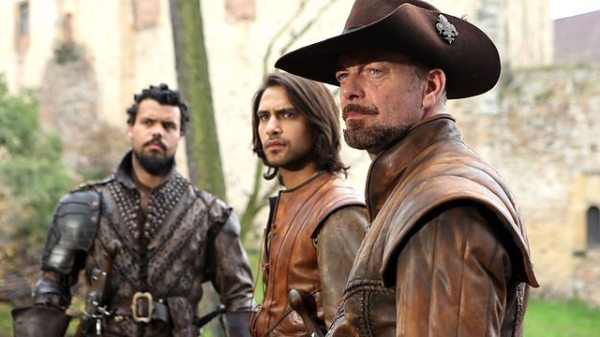 Can the Musketeers save Queen Anee and all of France? (Image: BBC)
