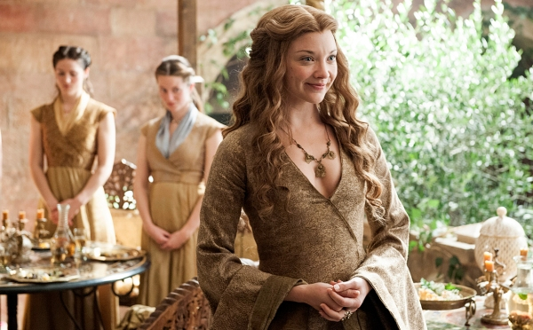 Margaery wastes no time trying to oust Cersei (Image: HBO)