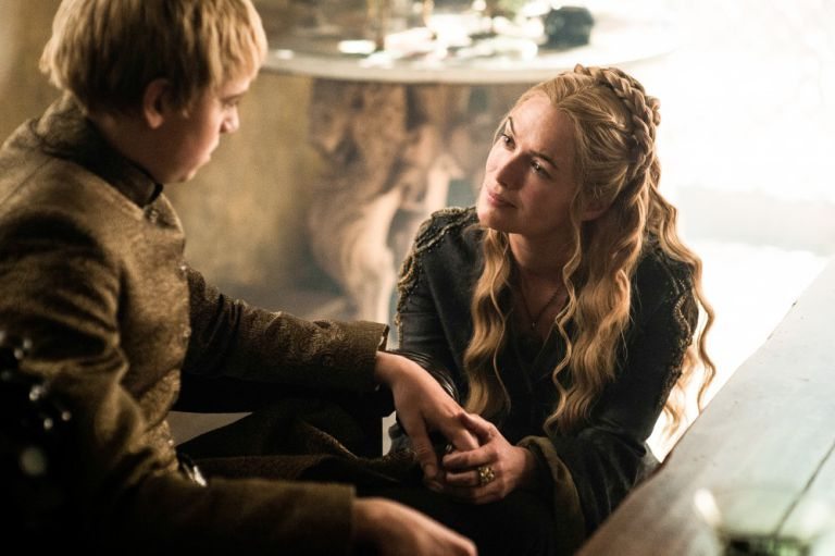 Cersei's desire to protect Tommen backfires on her (Image: HBO)